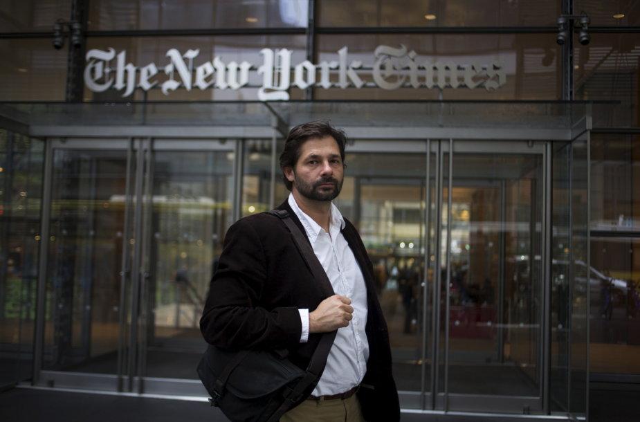 """Australijos fotoreporteris Danielis Berehulakas, nominuotas Pulitzerio premijai už darbus """"The New York Times"""""""