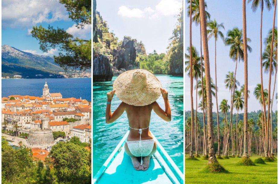 Išrinktos geriausio pasaulio salos