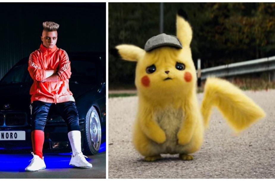 "Filmo ""Pokemon: detektyvas Pikachu"" garso takelyje – Dynoro hitas ""In My Mind"""