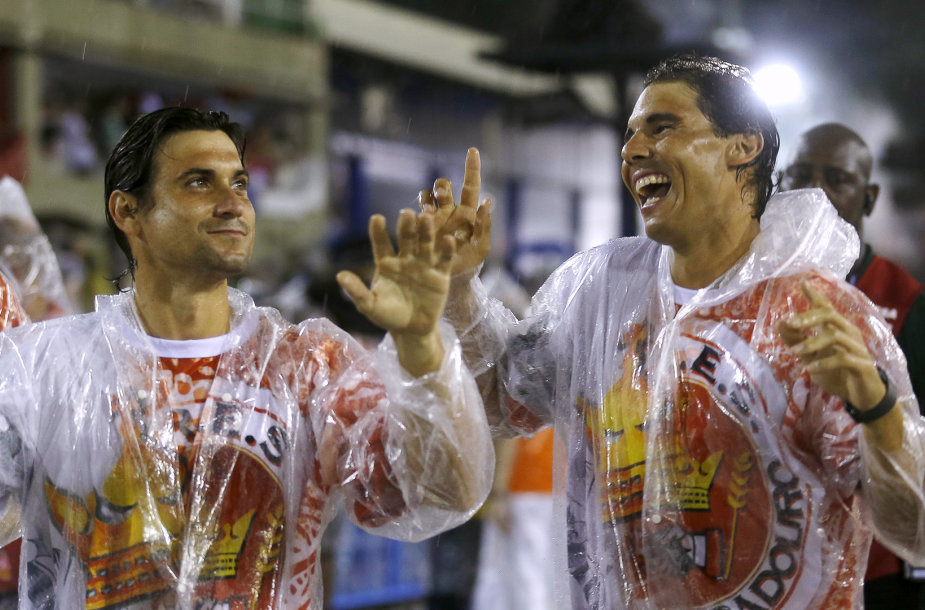 Davidas Ferreras ir Rafaelis Nadalis