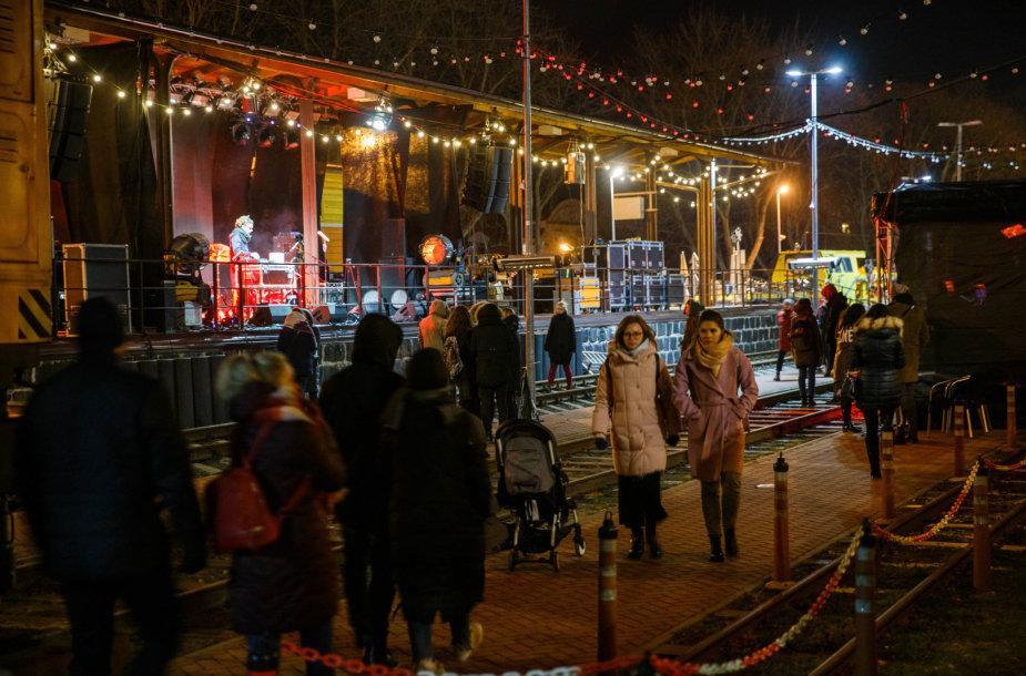 Kitokios Kalėdos ant geležinkelio bėgių – Šv. Stotis