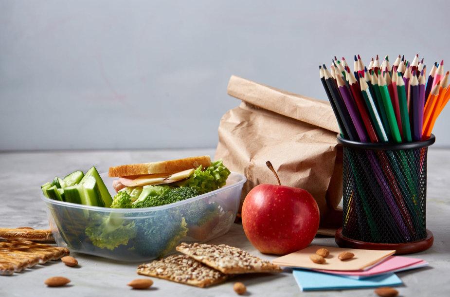 Mokinio maisto krepšelis