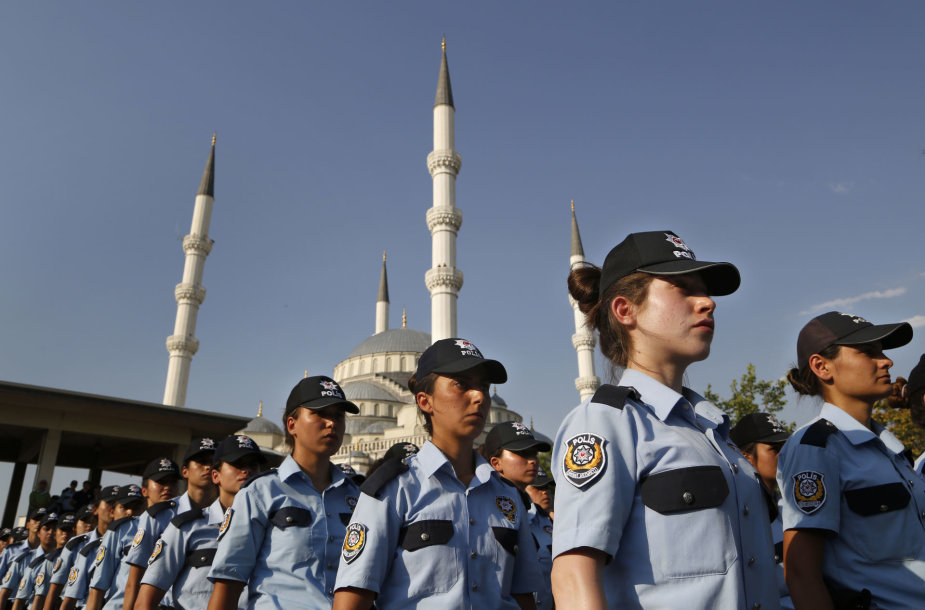 Turkijos policininkės