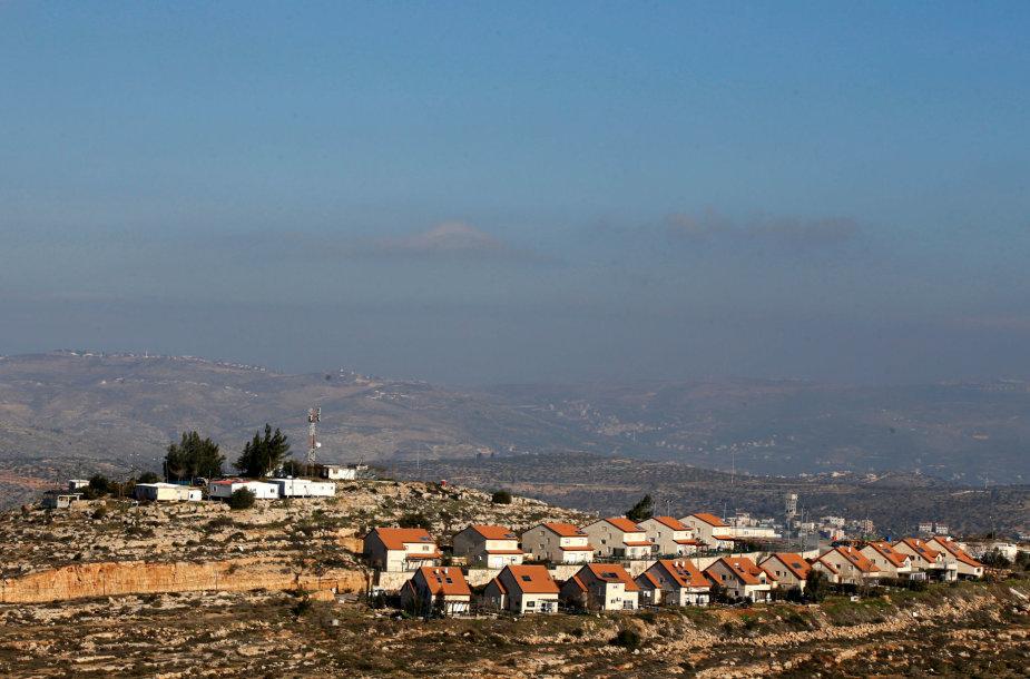 Izraelio nausėdija Vakarų Krante.