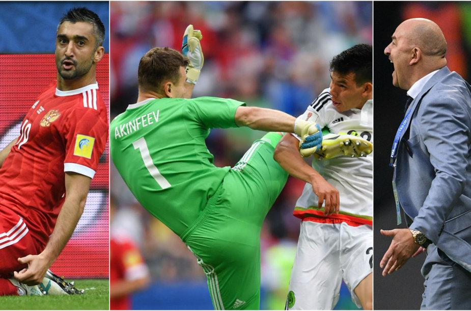 Rusijos futbolo metamorfozės