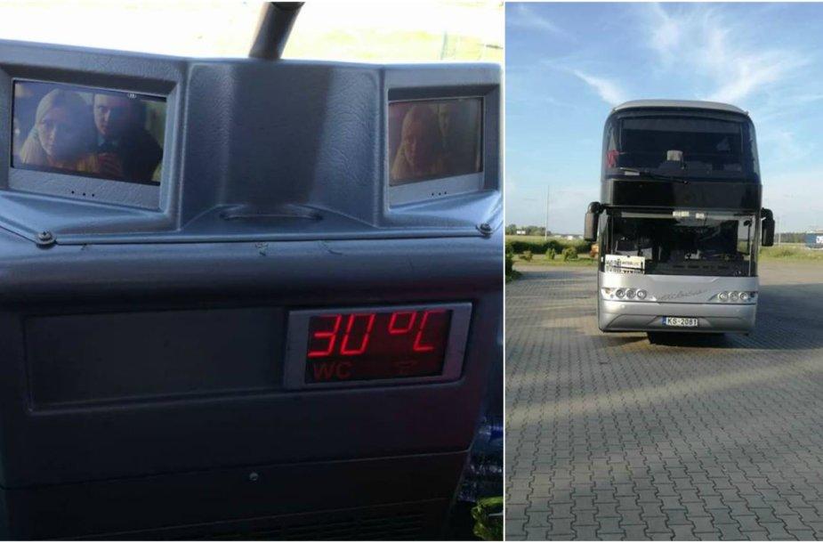 Kelionę į Juodkalniją kartina neveikiantis kondicionierius
