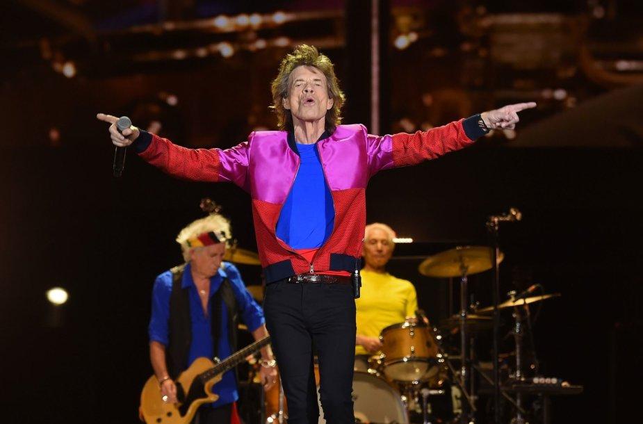 """Mickas Jaggeris iš """"The Rolling Stones"""""""