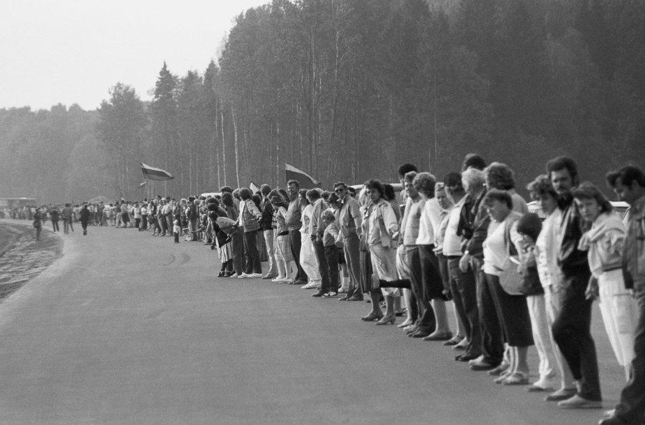 1989 08 23. Baltijos kelias
