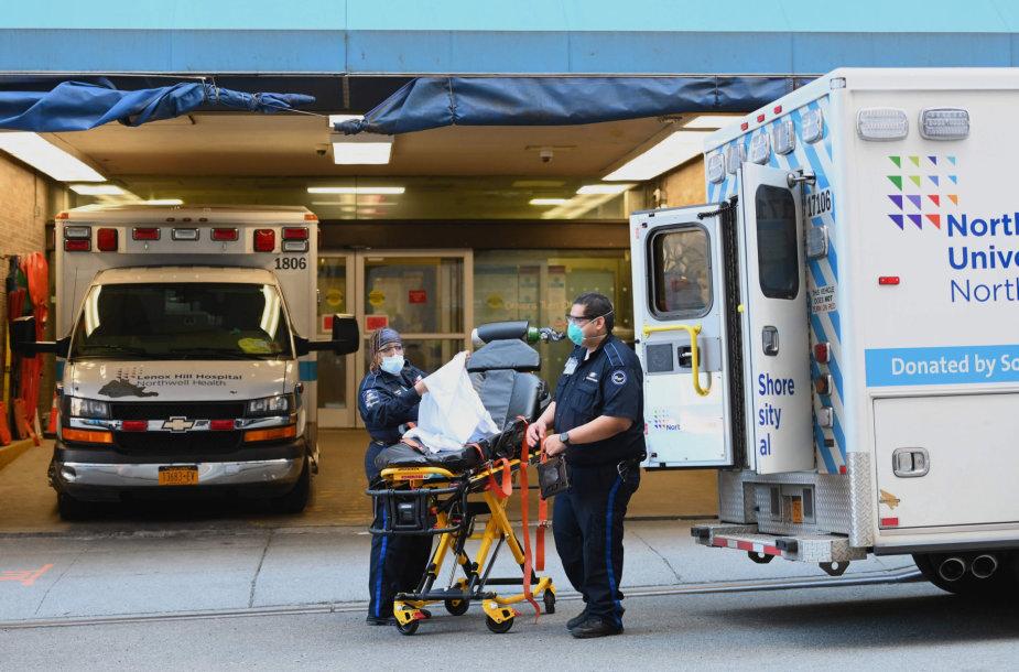 Niujorko paramedikai