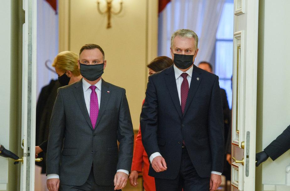 Andžejus Duda, Gitanas Nausėda