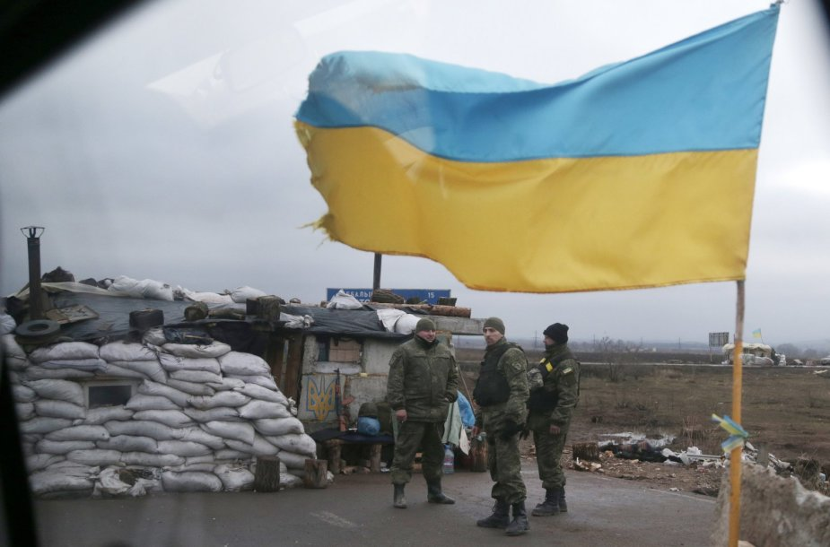 Ukrainos kariai prie Debalcevės miesto