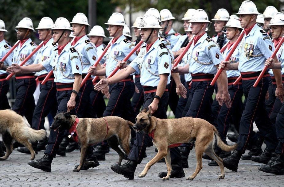 Bastilijos paėmimo dienos karinis paradas Prancūzijoje