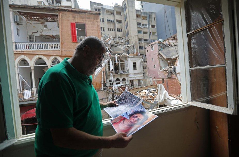 Po sprogimo Libane