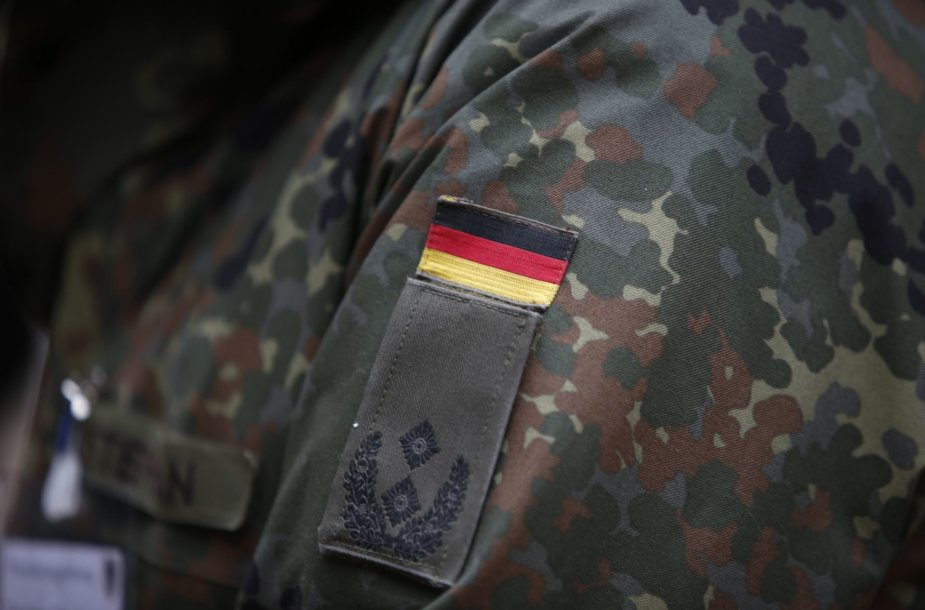 Vokiečių kariai ir karinė technika