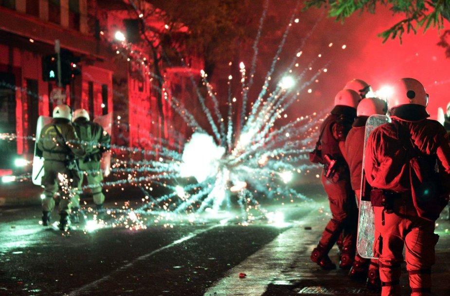 Atėnų Eksarchijos rajonas vadinamas anarchizmo židiniu