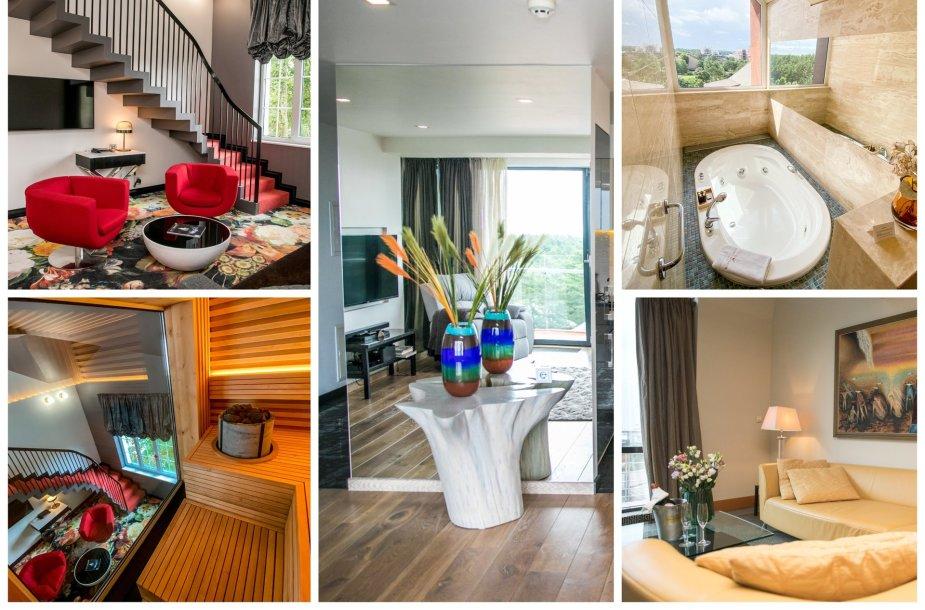 """Karališkieji apartamentai """"Amsterdam Plaza"""", """"Palanga Sea View"""", Prezidentiniai apartamentai """"Vanagupėje"""""""