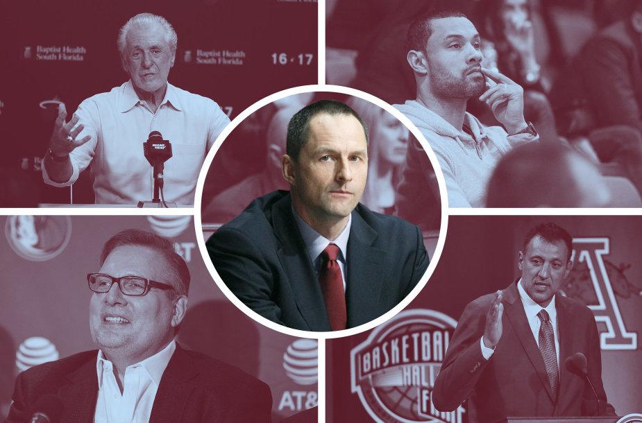 NBA komandų vadovai