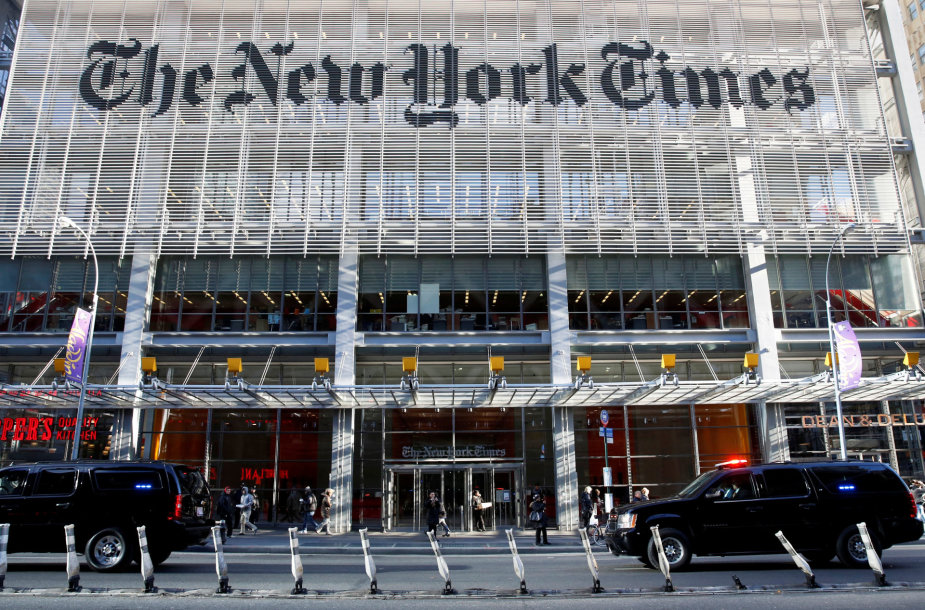 """The New York Times"" redakcija Niujorke"