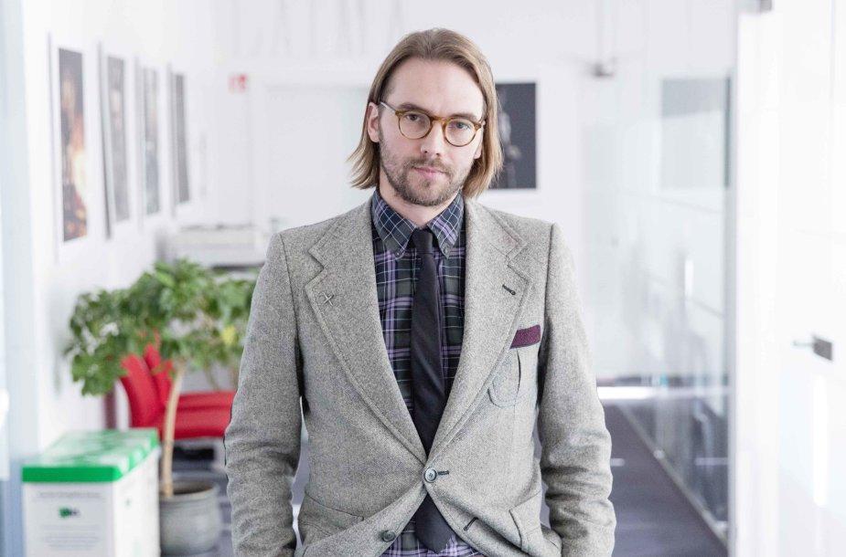 """VĮ """"Lietuvos oro uostai"""" direktorius Gediminas Almantas"""