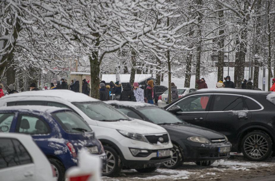 Žiemiškų linksmybių popietė Vilniuje
