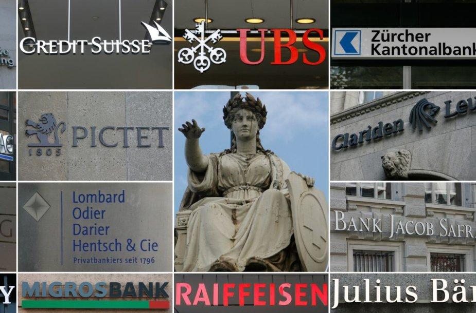 Šveicarijos bankai