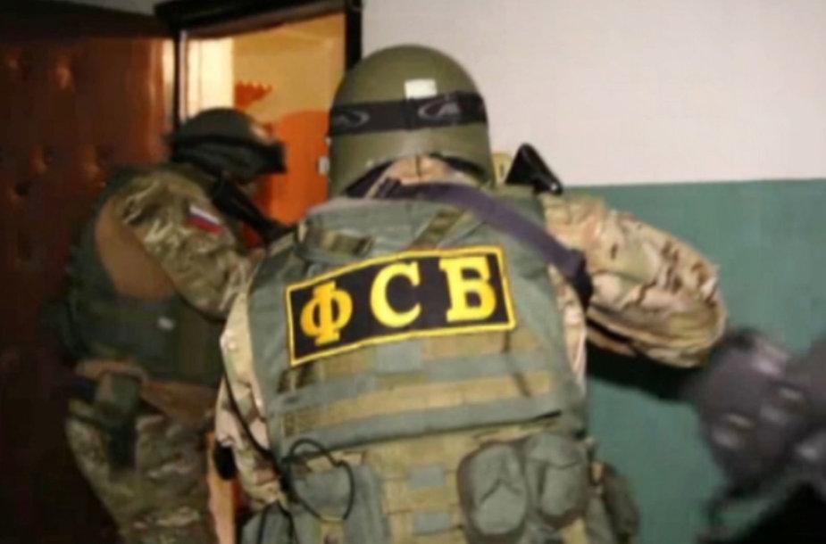 Rusijos FSB pareigūnų reidas