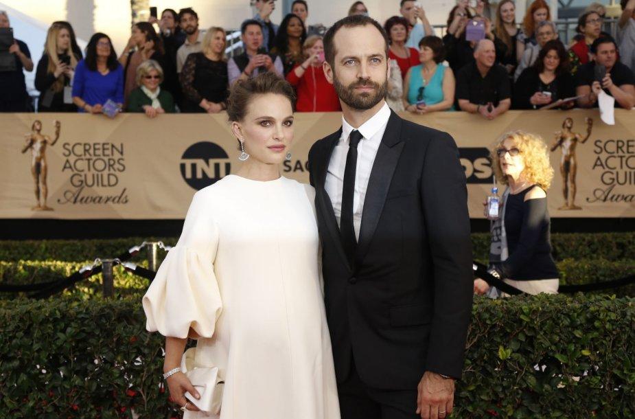 Natalie Portman ir Benjaminas Millepied