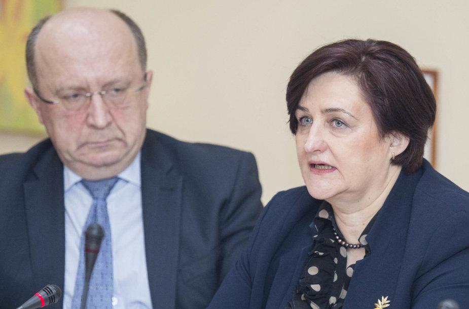 Andrius Kubilius ir Loreta Graužinienė