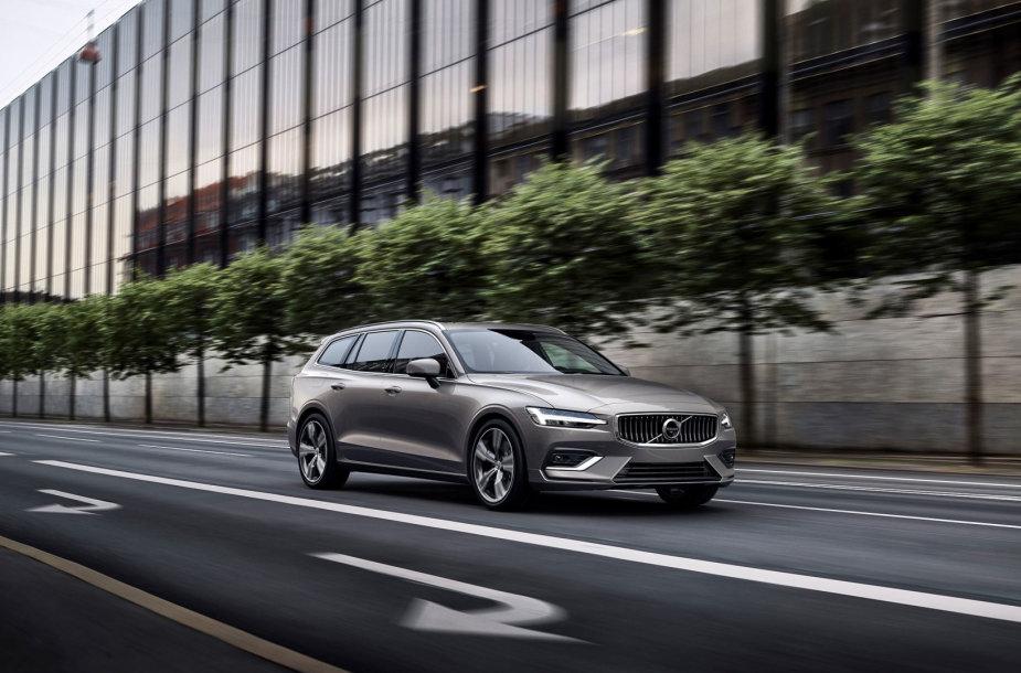 """Naujasis """"Volvo V60"""" turės net dvi hibridines versijas"""