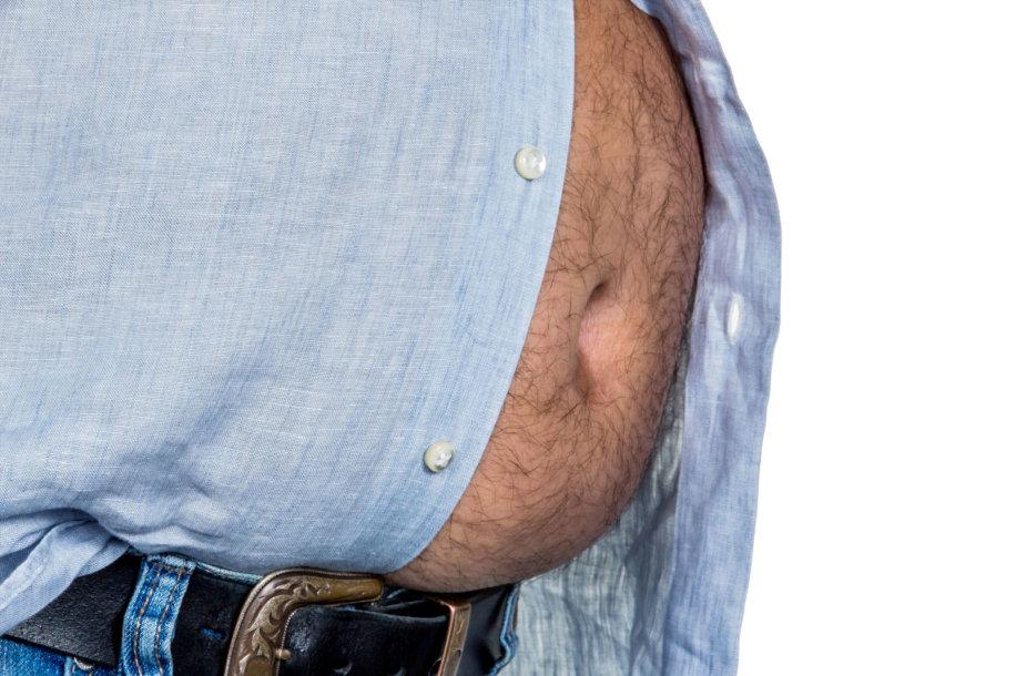Kol kas vyrų pilvai pučiasi tikrai ne nuo nėštumo