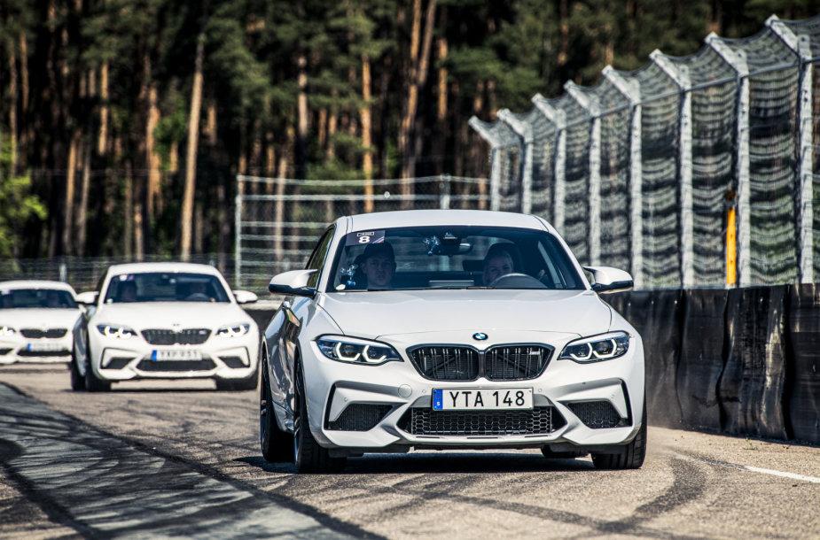 BMW M dienos Bikerniekų trasoje