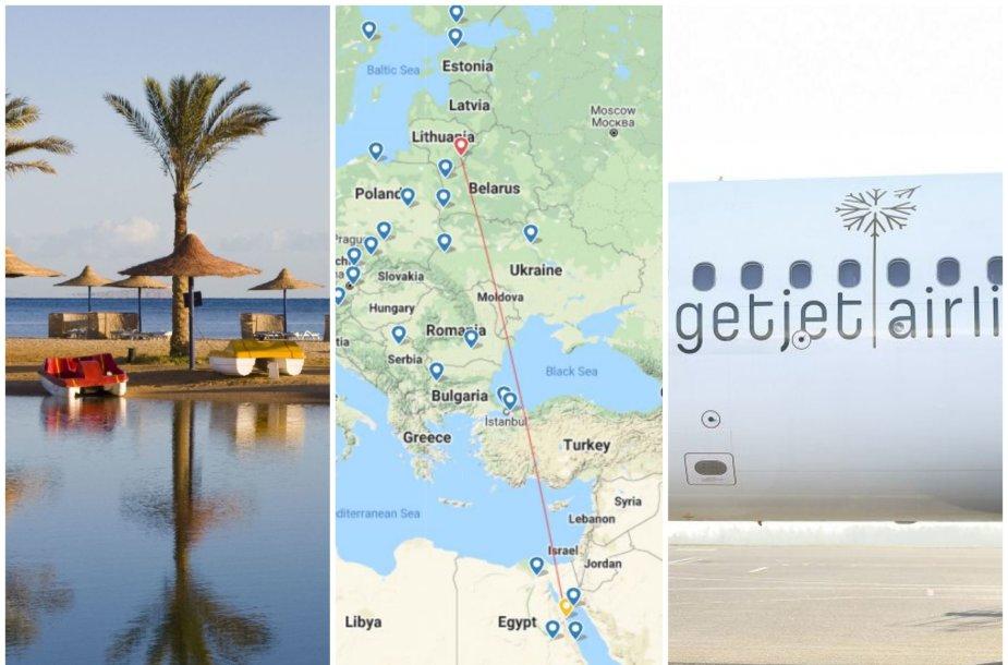Lietuviai skubos tvarka gabenami iš Egipto
