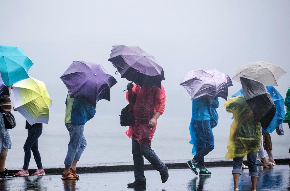 Vėjas ir lietus
