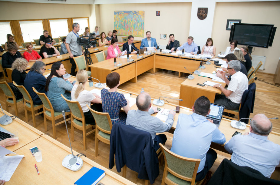 Kultūros komiteto posedis Seime