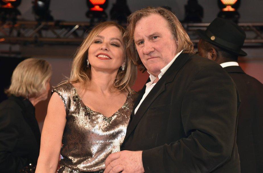 Ornella Muti su dar vienu V.Putino draugu Gerardu Depardieu