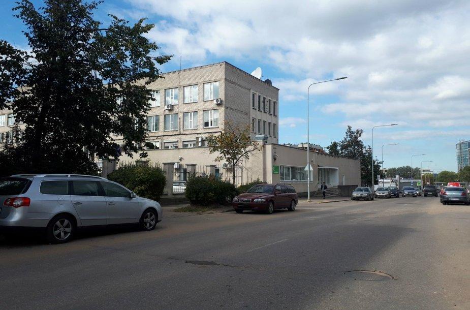 Smolensko gatvėje parduodami VŠT pastatai