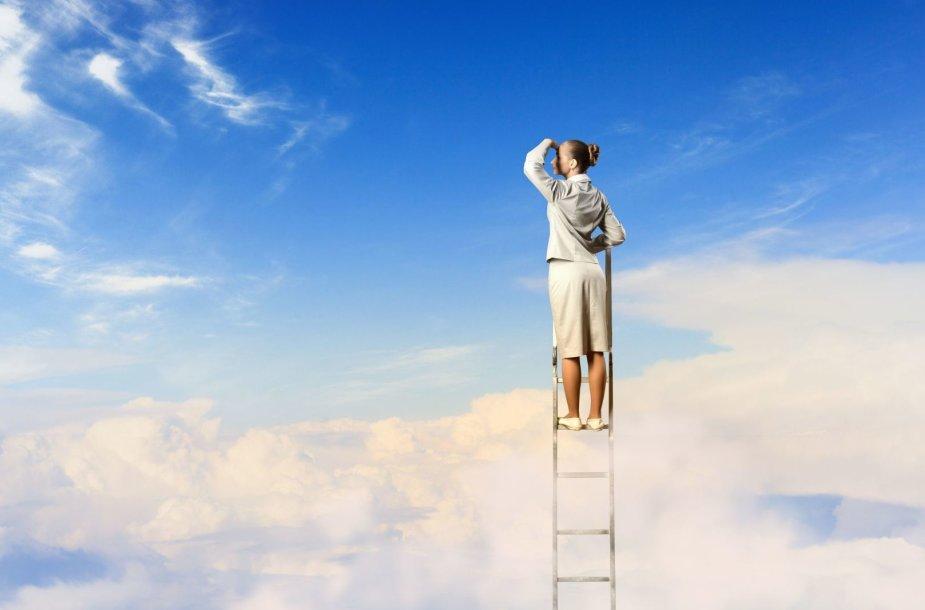 Jei norime pasiekti tikslą, svarbu ne tik mintys, bet ir konkretūs darbai