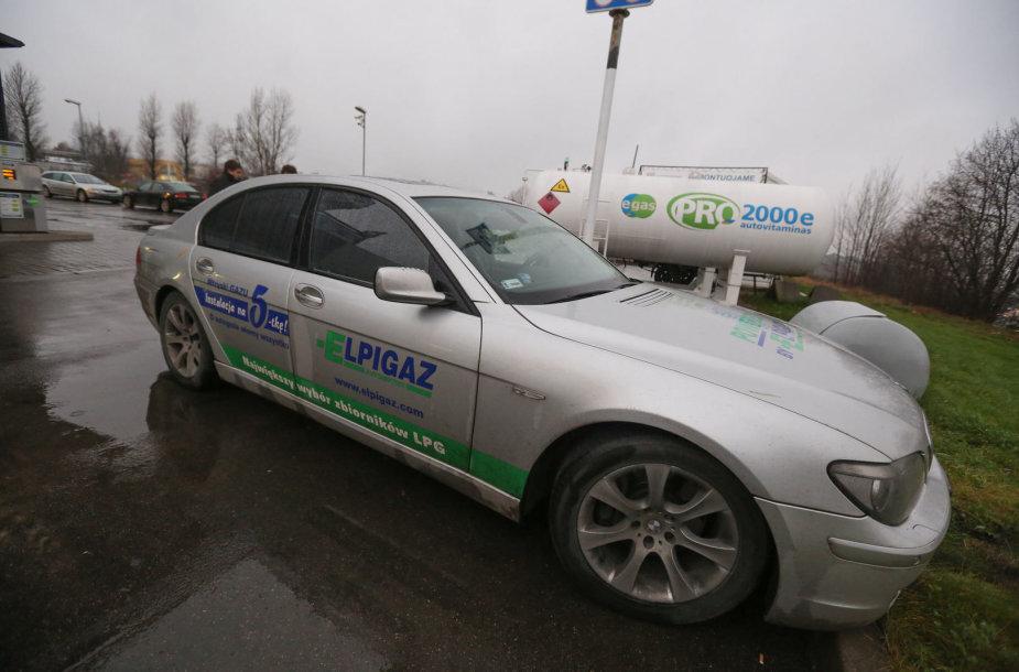 """Elpigaz"" dujų įrangos dyzeliniame automobilyje pristatymas Lietuvoje"