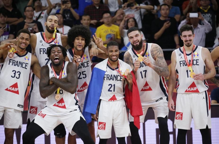 Prancūzijos krepšinio rinktinė – pasaulio čempionato trečios vietos laimėtoja