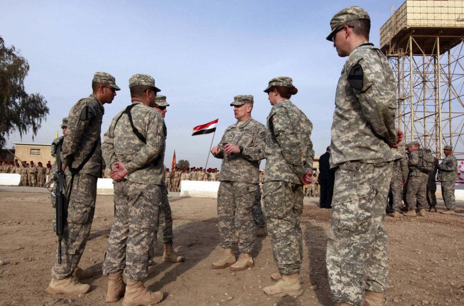 Amerikiečių kariai Irake