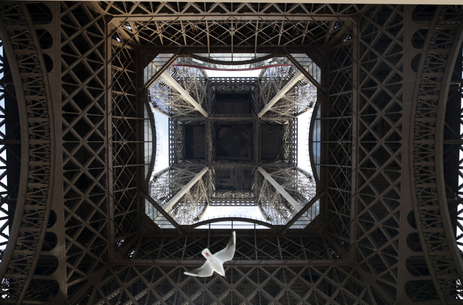 Uždarytas Eifelio bokštas