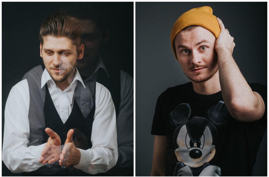 Justinas Stanislovas ir Zigmantas Baranauskas