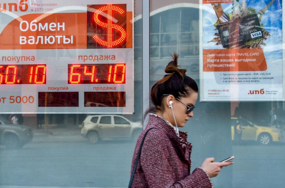 JAV sankcijos kenkia Rusijos ekonomikai