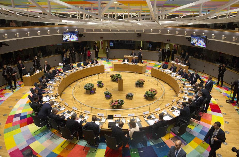 Europos Sąjungos lyderių susitikimas