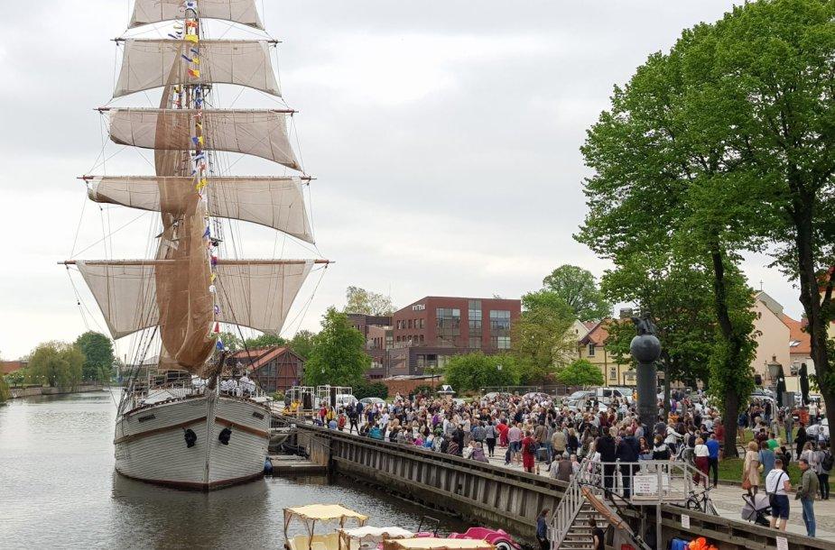 Klaipėdoje - jau dešimtasis Laivų paradas