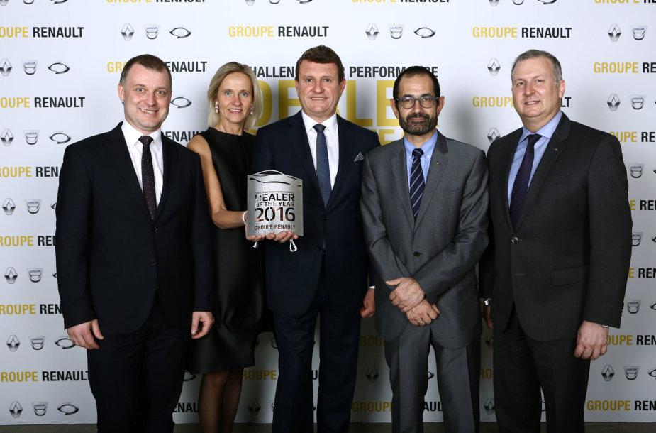 """""""Sostena"""" išrinkta geriausia """"Renault"""" atstovybe Baltijos šalyse"""