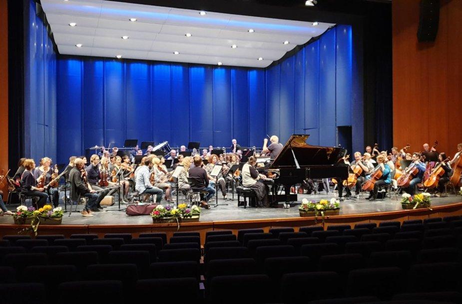 Lietuvos valstybinis simfoninis orkestras išvyko gastrolių į Vokietiją