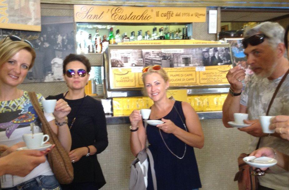 "Geriausia kava Romoje – ""Sant'Eustacchio Il Caffe"""
