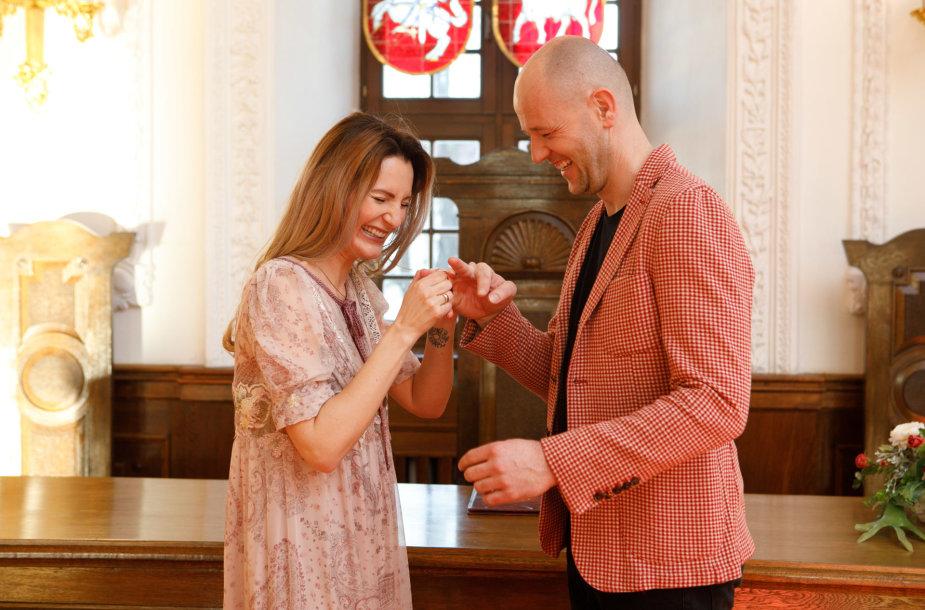Ingridos Rutkauskaitės ir Donato Naujoko vestuvės