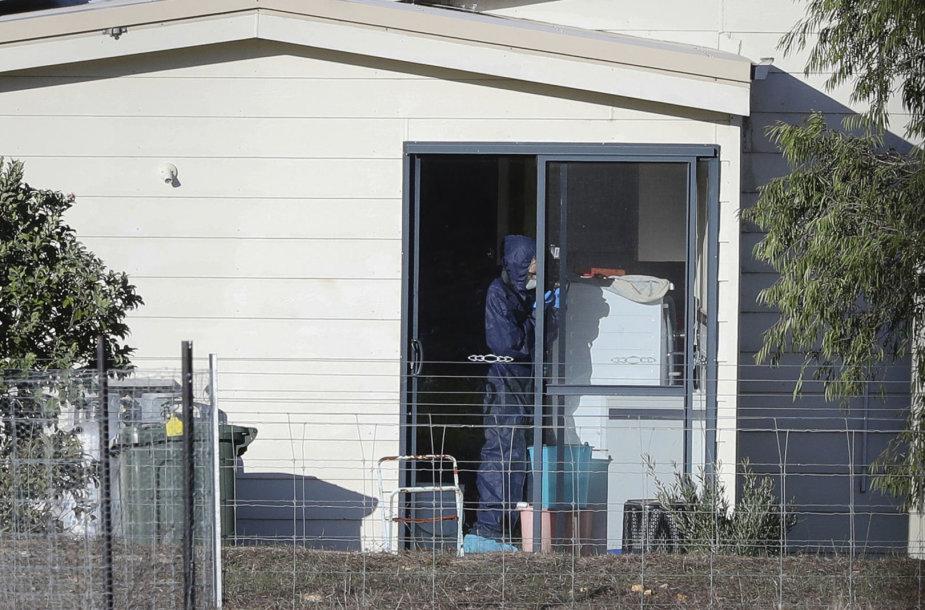 Namas Australijoje, kuriame vyko šaudynės